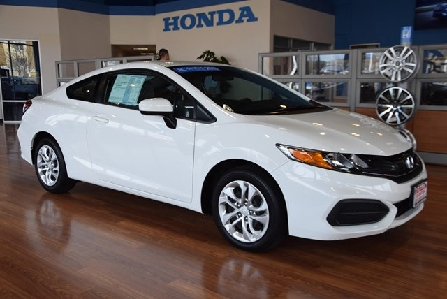 Certified pre owned 2015 honda civic lx 2d coupe near san for Certified used honda civic